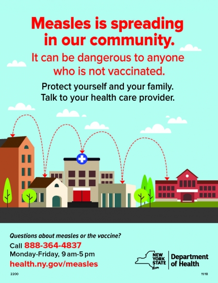 new york measles poster